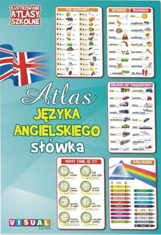 Ilustrowany atlas szkolny. Atlas j.ang. słówka