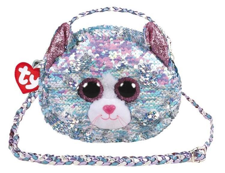 Ty Fashion - cekinowa torba na ramię - Kot