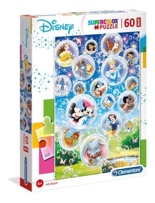 Puzzle Supercolor Maxi 60 Disney Classic