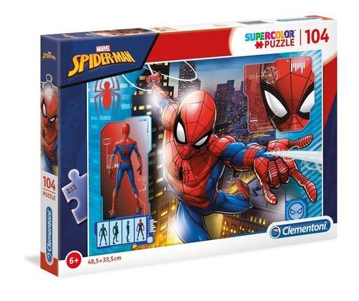 Puzzle 104 Super kolor Spiderman