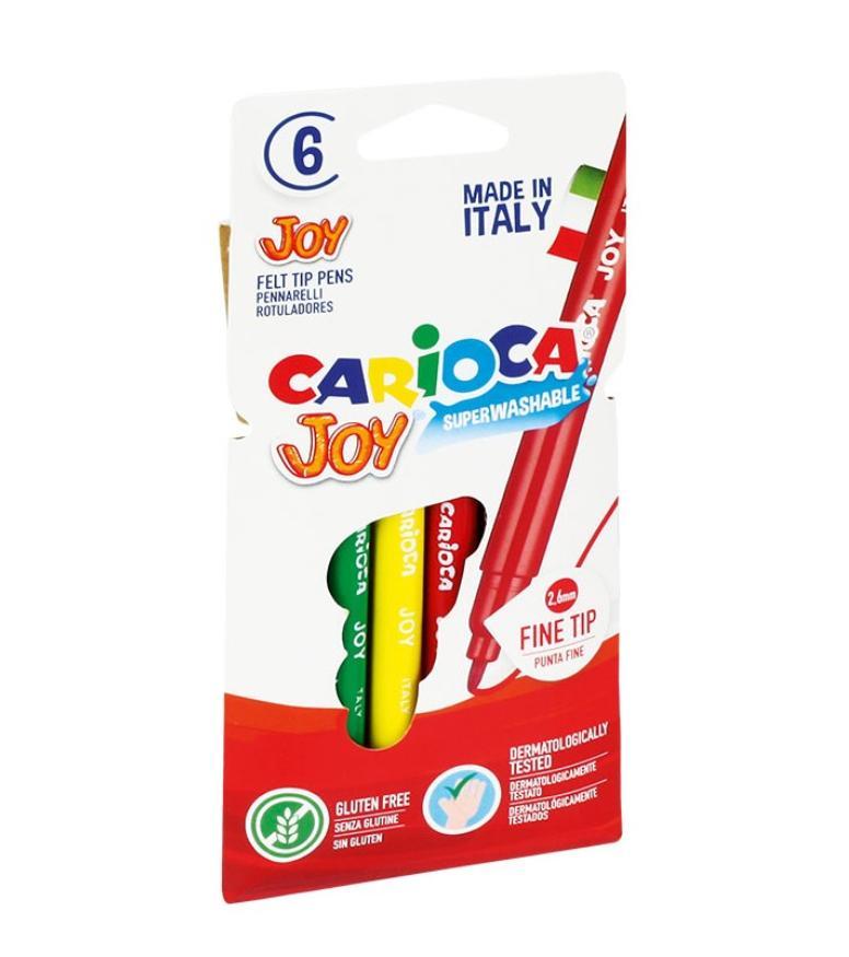 Pisaki Joy 6 kolorów CARIOCA