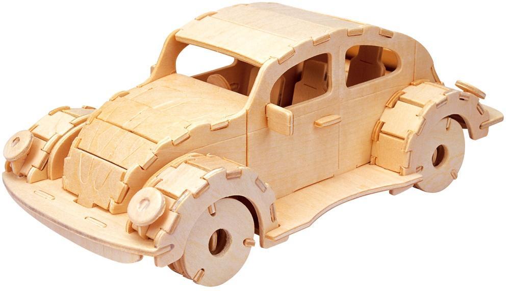 Łamigłówka drewniana Gepetto - Samochód G3