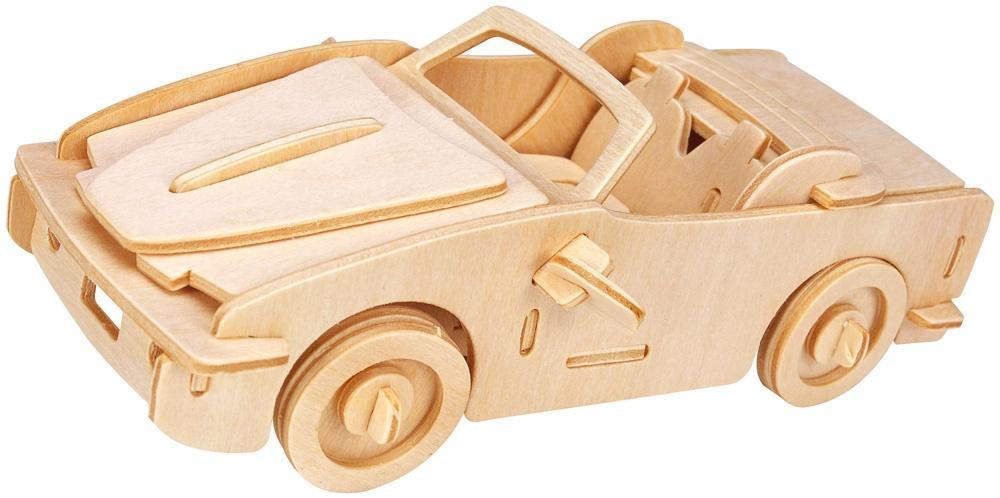 Łamigłówka drewniana Gepetto - Kabriolet G3
