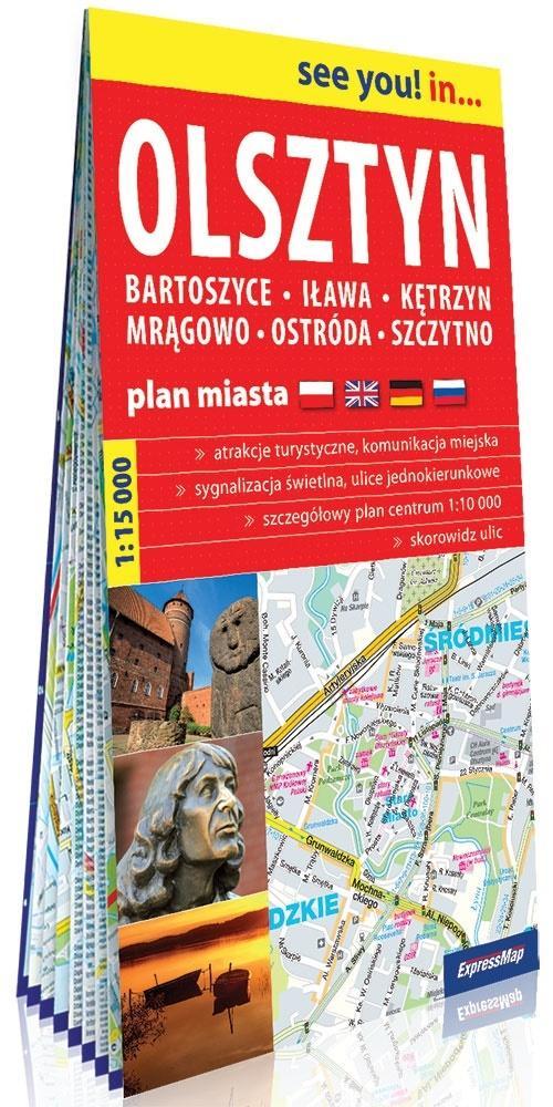 See you! in... Olsztyn 1:15 000 plan miasta