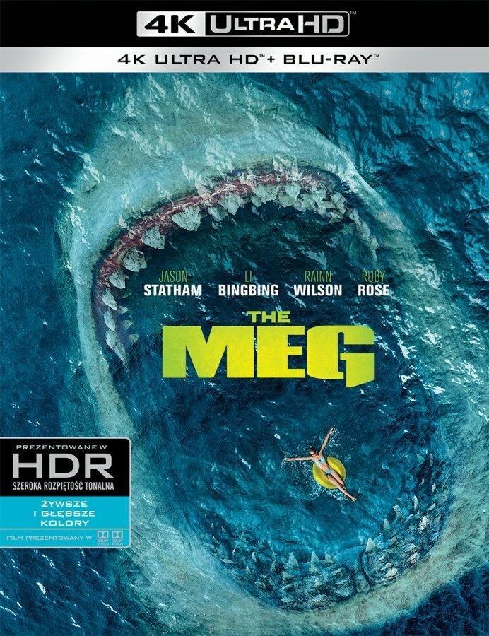 The Meg (2 Blu-ray) 4K
