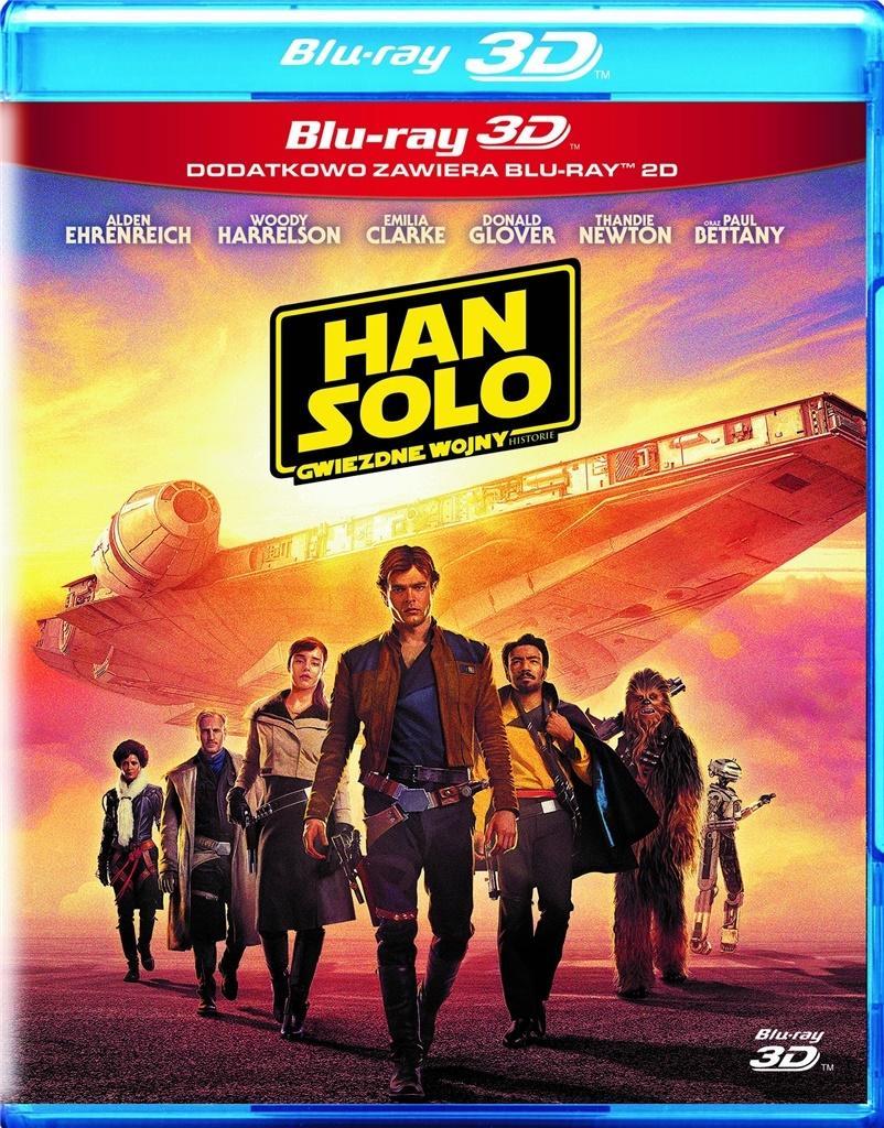 Han Solo. Gwiezdne wojny. Historie (3 Blu-ray) 3D