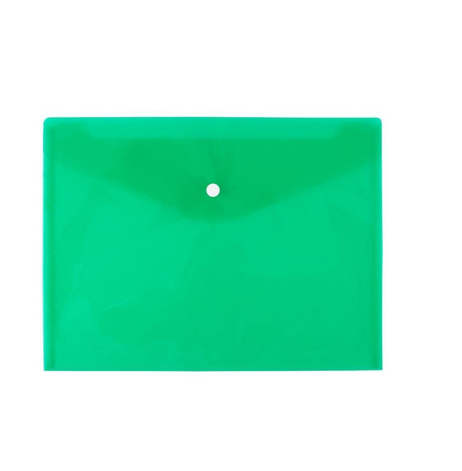 Teczka kopertowa A4 zielona D.RECT