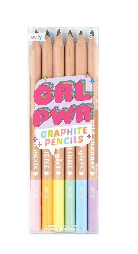 Ołówki Grl pwr 6szt