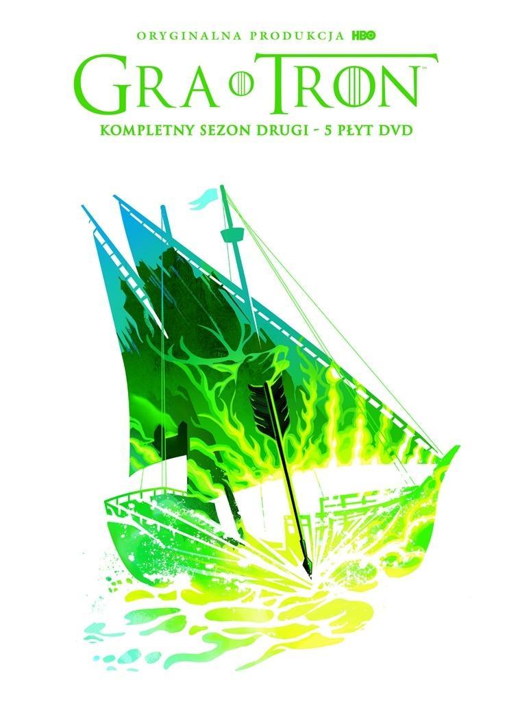 Gra o tron. Sezon 2 (5 DVD)