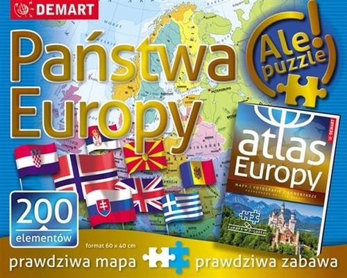 Puzzle 200 Państwa Europy