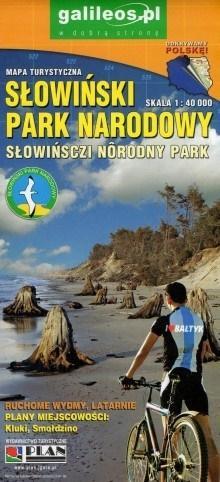Mapa turystyczna laminowa - Słowiański PN 1:40 000
