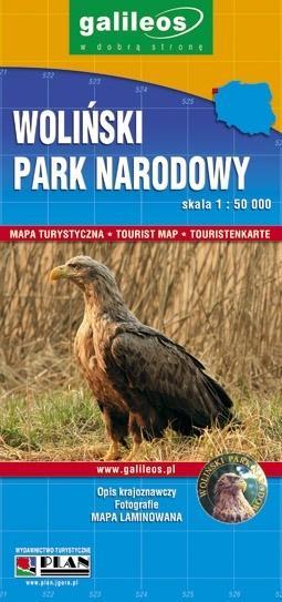 Mapa turystyczna - Woliński PN 1:50 000