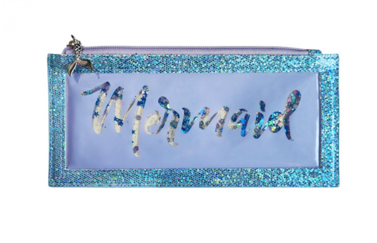 Piórnik Mermaid wodne cekiny