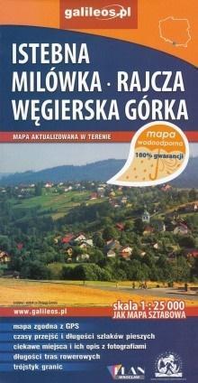Mapa wodoodporna - Istebna,Milówka, Węgierska Góra