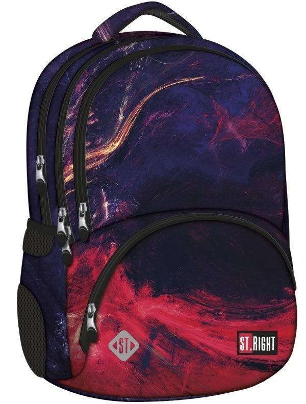 Plecak 4-komorowy Płomienie