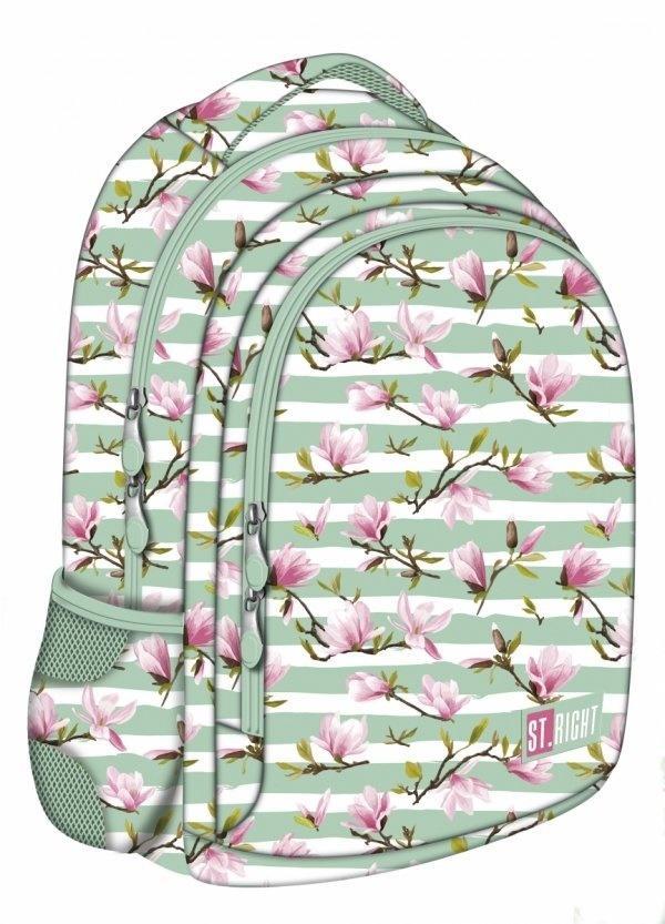 Plecak 2-komorowy Kwiat Magnoli