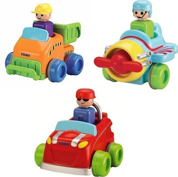 Pojazd naciśnij i jedź TOMY