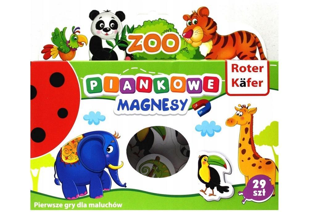 Magnesy piankowe Zoo