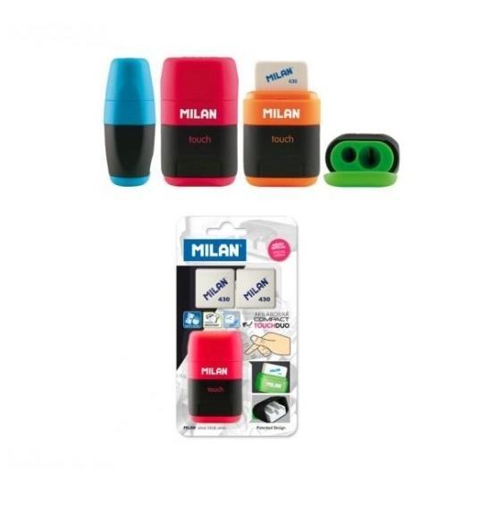 Temperówko-gumka Compact mix +2 gumki 430 MILAN