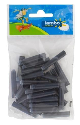 Naboje atramentowe czarne 30szt LAMBO