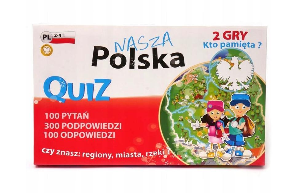 Quiz 2 gry - Polska FAN