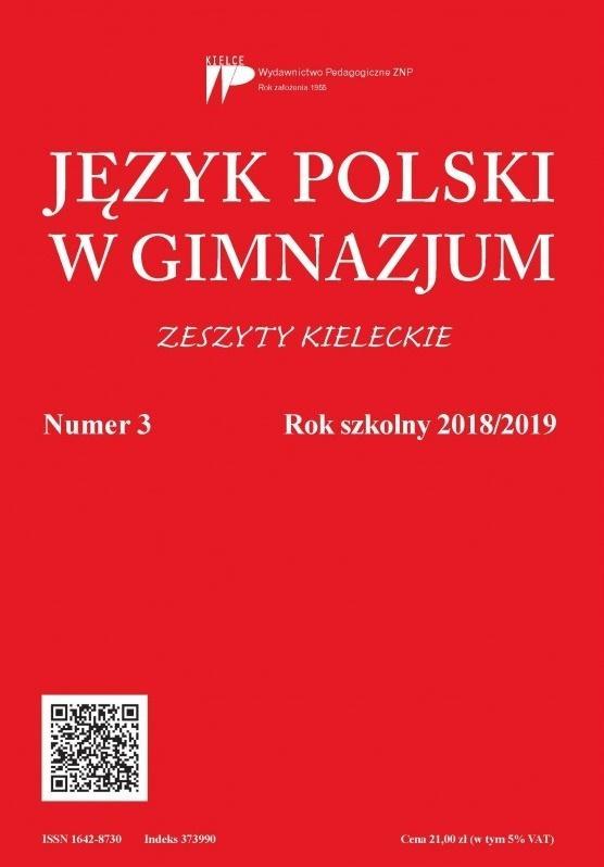 Język Polski w Gimnazjum nr 3 2018/2019