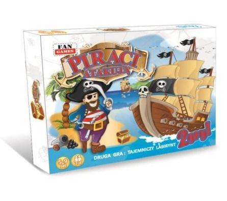 Piraci atakują + Labirynt FAN