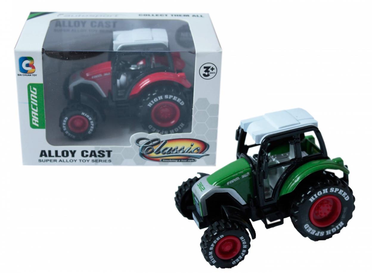 Traktor metalowy