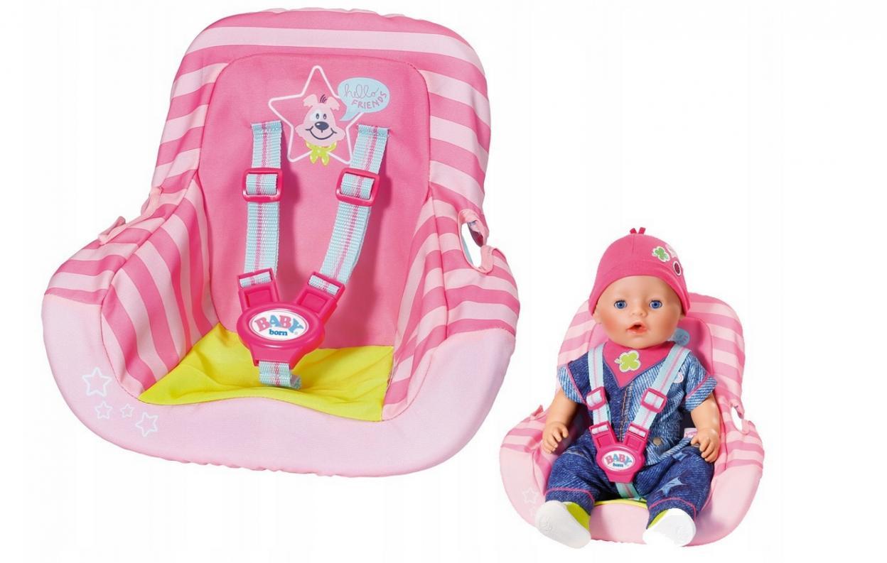Baby born - Fotelik samochodowy