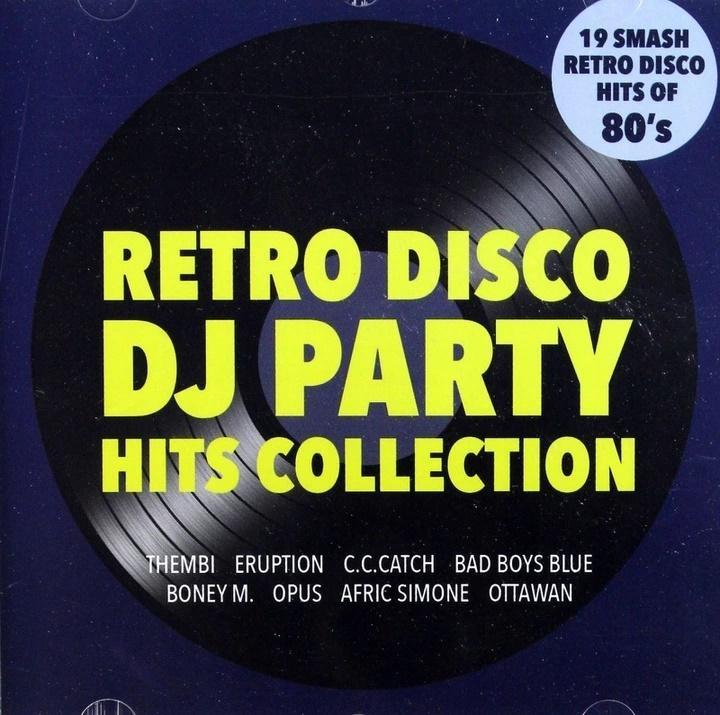 Retro disco DJ party - Hits collection CD