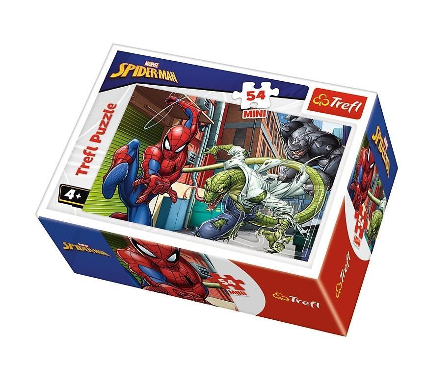 Puzzle 54 mini Czas na Spider-Mana 4 TREFL
