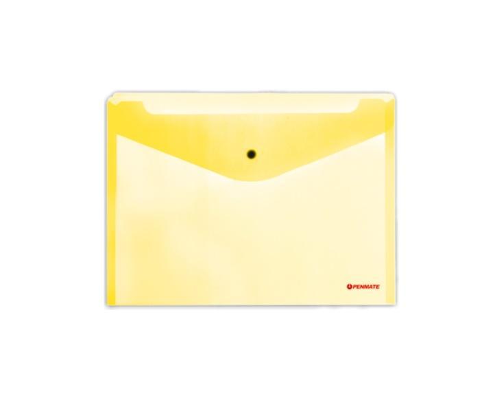 Koperta na zatrzask A5 PP-233 żółta PENMATE