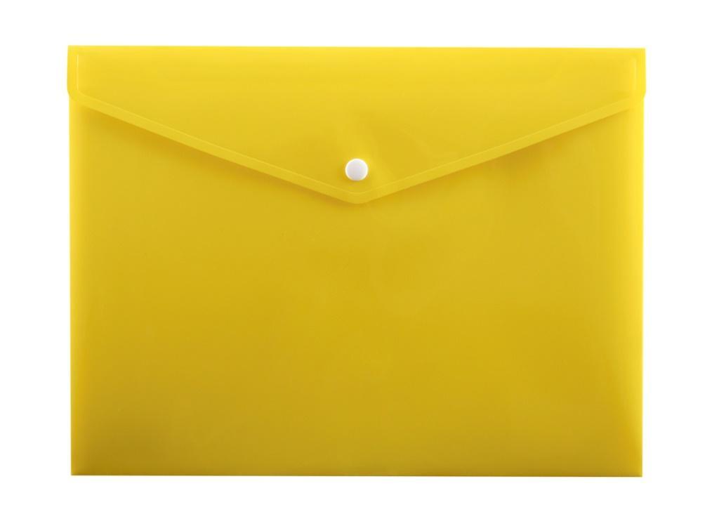 Koperta na zatrzask A5 PP-114 żółta PENMATE