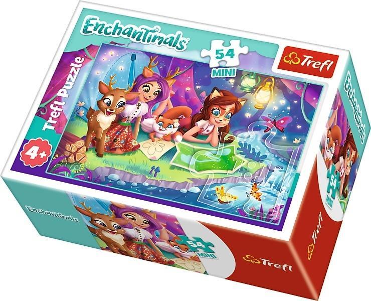 Puzzle 54 mini Wesoły dzień Enchantimals 1 TREFL