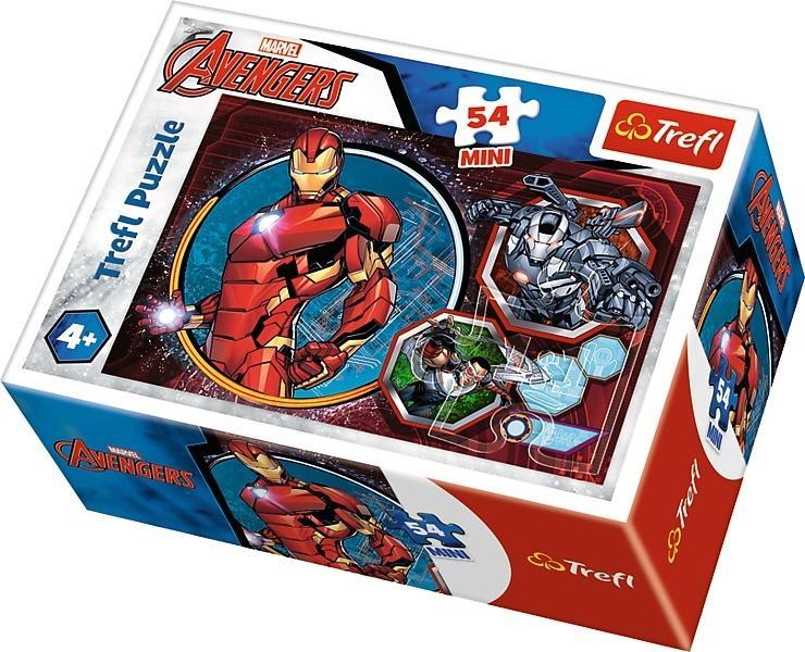 Puzzle 54 mini Bohaterowie The Avengers 3 TREFL