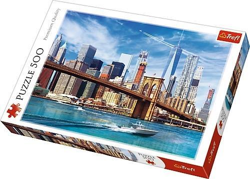 Puzzle 500 Widok na Nowy Jork TREFL