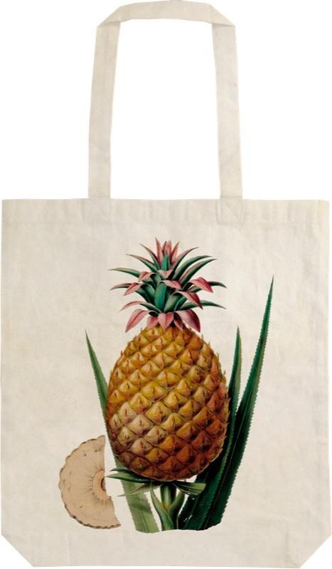 Torba bawełniana na ramię Szoperka STBAG 07 Ananas