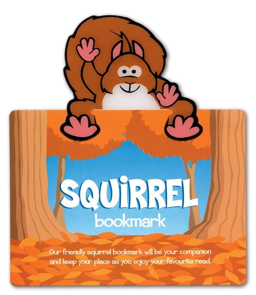 Zwierzęca zakładka do książki Squirrel - Wiewiórka