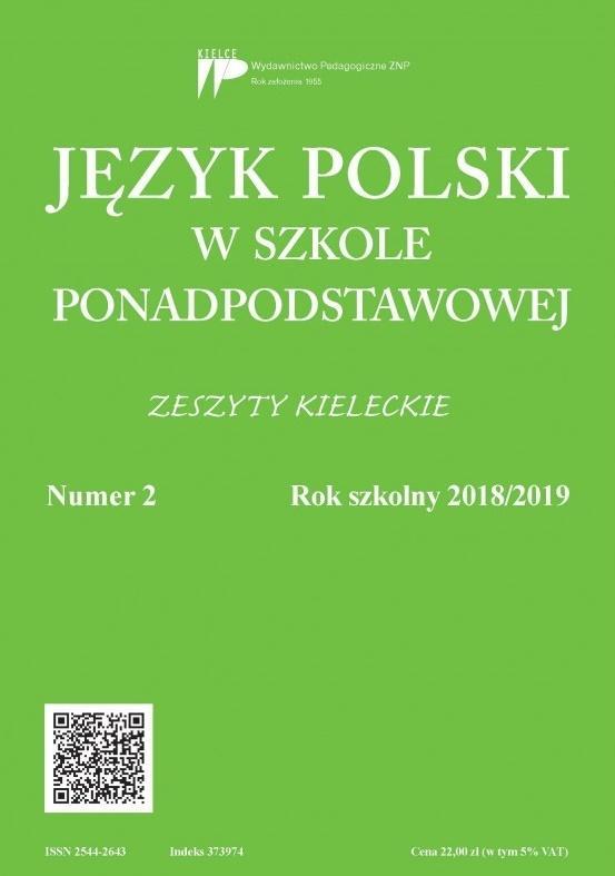 Język Polski w szkole ponadpodst. nr 2 2018/2019