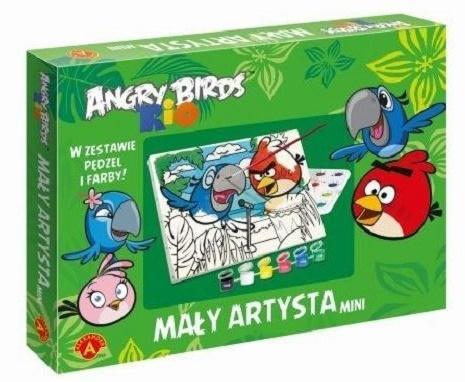 Mały artysta mini Angry Birds ALEX