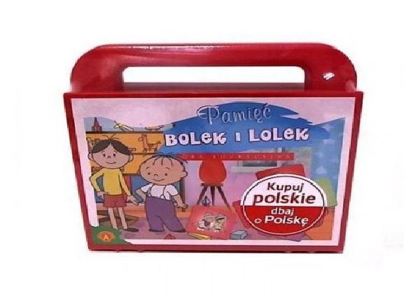 Pamięć Bolek i lolek w walizce ALEX