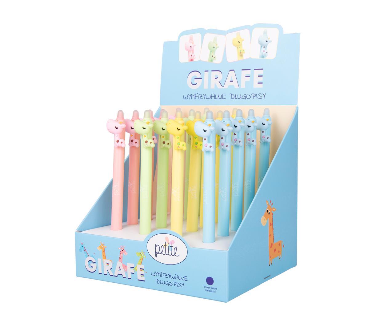 Długopis wymazywalny Petite Girafe (20szt)