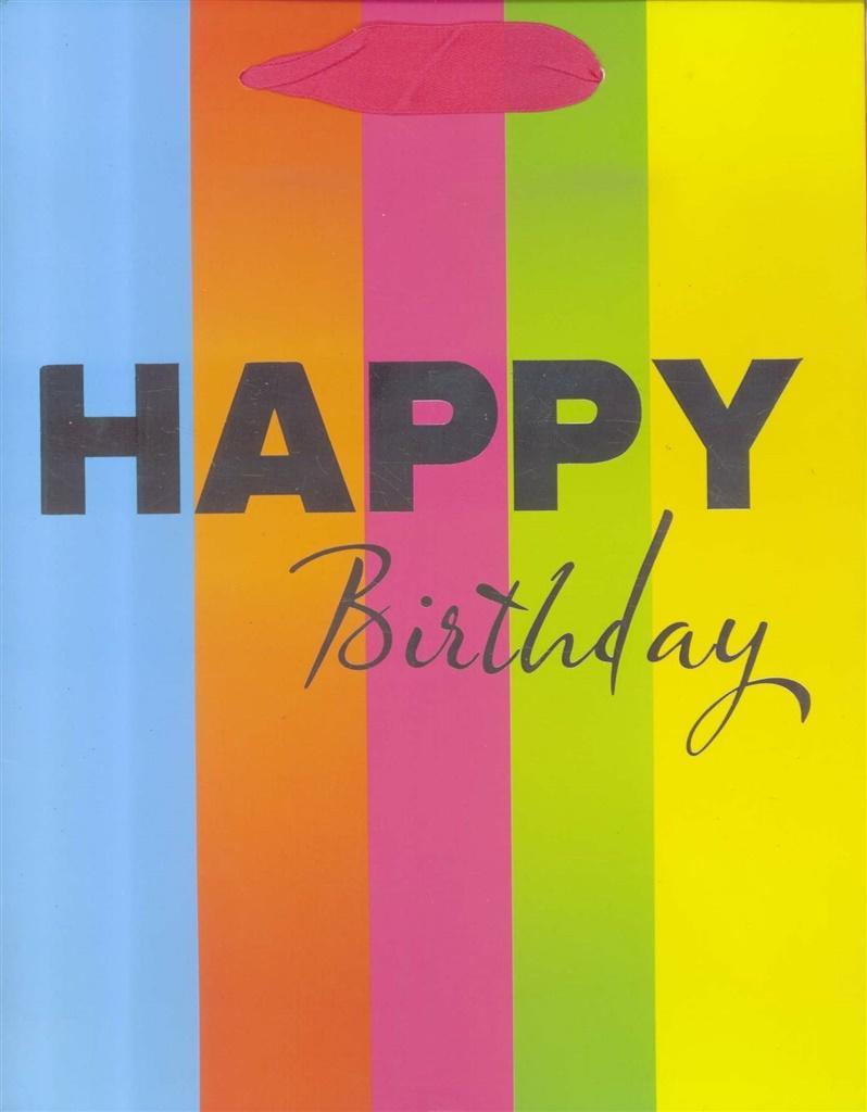 Torebka prezentowa M Happy Birthday 1323-1