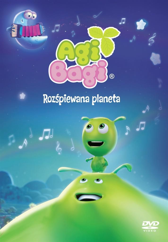Agi Bagi - Rozśpiewana planeta DVD