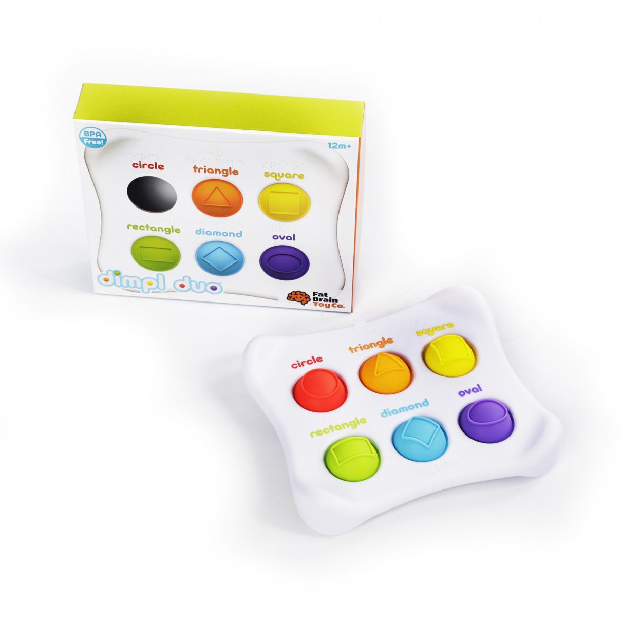 Bąbelki Dimpl Duo - kształty i kolory