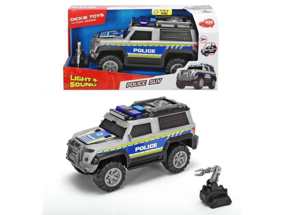 Policja SUV srebrna 30cm