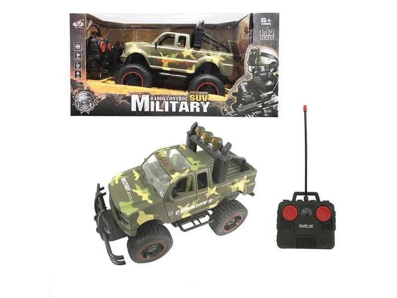 Jeep wojskowy RC z ładowarką