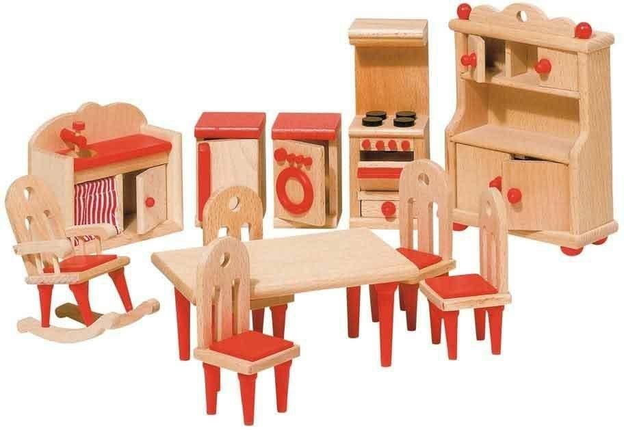 Kuchnia i pralka do domu dla lalek
