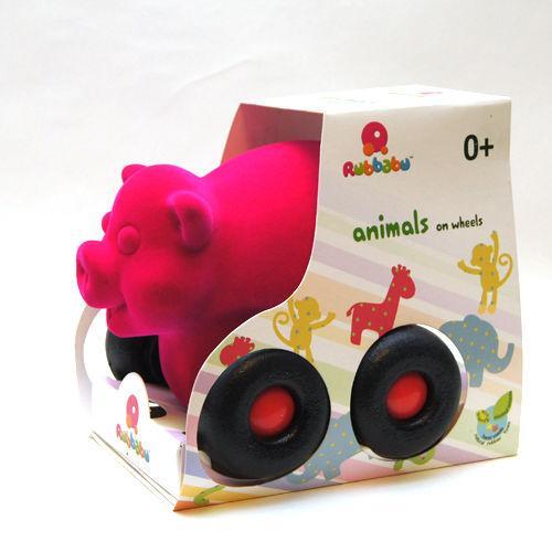 Pojazd - świnka różowa