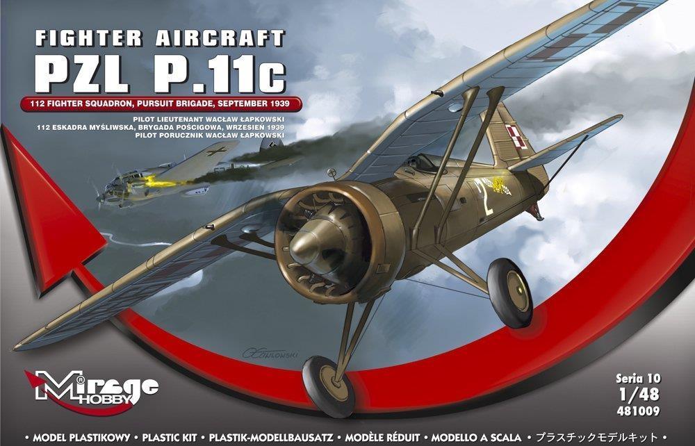 "Samolot Myśliwski ""PZL P.11C 112"""
